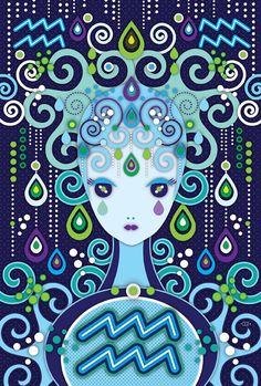 Zune Originals Zodiac on Behance. Aquarius