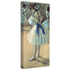 'Dancer' by Edgar Degas Gallery-Wrapped on Canvas