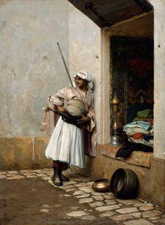 Charles+Bargue+-+Turkish+Sentinel+1877.jpg (922×1250)