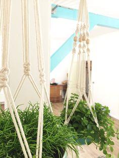 Hang planten in mijn huisje.