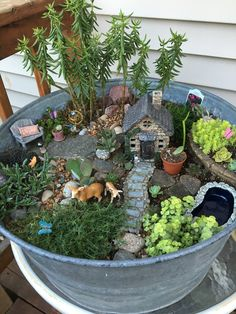 , & 67 beautiful and easy fairy garden ideas for kids that you must see 25 ⋆ newport-internati. , & 67 beautiful and easy fairy garden ideas for kids that you must see 25 ⋆ n. Mini Fairy Garden, Fairy Garden Houses, Gnome Garden, Fairy Gardening, Fairies Garden, Garden Sheds, Cactus Flower, Flower Pots, Flower Bookey
