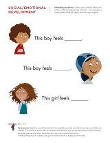 Basic feelings worksheets - differentiating emotions and ...