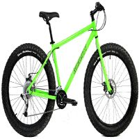 Fat Bikes for every budget and Huge discounts make Mountain Bikes affordable - MTB - Gravity Bullseye Monster - hardtail - SRAM Shimano equipped - Aluminum Trek Bikes, Cycling Bikes, Road Cycling, Bike Cargo Trailer, Folding Mountain Bike, Road Bike Women, Fat Bike, Bicycle Maintenance, Cool Bike Accessories