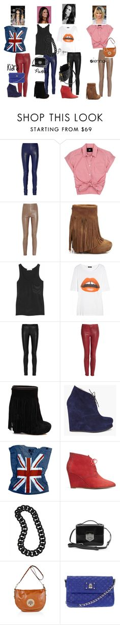 """""""The 2400's Paint the Town Red"""" by anydaynow ❤ liked on Polyvore featuring Joseph, D&G, Zero + Maria Cornejo, Koolaburra, Kain, Markus Lupfer, The Row, J Brand, Jil Sander and Rebel Yell"""