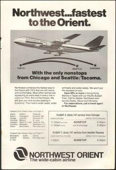 1978-Northwest Orient Airlines Advert