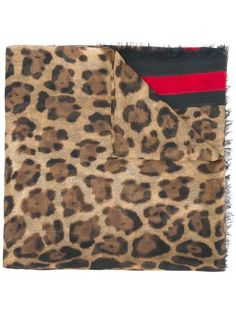Shop Gucci leopard print scarf with Web in Spinnaker Sanremo from the world's best independent boutiques at farfetch.com. Shop 400 boutiques at one address.