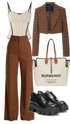 Glamouröse Outfits, Kpop Fashion Outfits, Retro Outfits, Cute Casual Outfits, Stylish Outfits, Vintage Outfits, Polyvore Outfits, 90s Fashion, Elegantes Business Outfit
