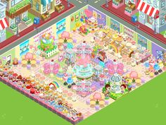 My Bakery Story App Game(name-cups)