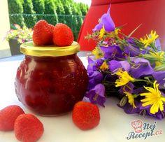 15 fantastických receptů na chutné domácí marmelády/džemy | NejRecept.cz Raspberry, Strawberry, Easy Dinner Recipes, Watermelon, Food And Drink, Kiwi, Homemade, Fruit, Recipes
