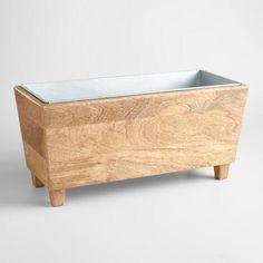 Wood Trough Wine Chiller - v1