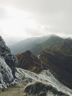 moody landscape photo