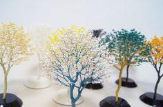 Naoki Onogawa Creates Amazing Bonsai Trees Through Tiny Origami Cranes
