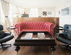 A pink sofa this bold needs to be taken care of. Learn how @BrightNest Blog