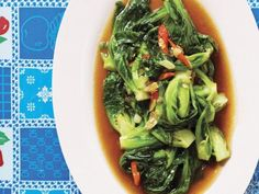 Chef Andy Ricker's Phat Khanaeng (Stir-Fried Brussels Sprouts Recipe) From 'Pok Pok'.