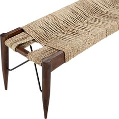 wrap bench in view all furniture | CB2