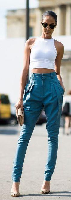 Bottoms : classic harem #Pants #buyable