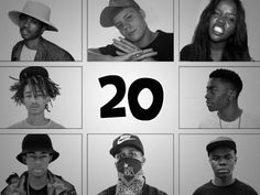 20 UNDER 20: TEENAGE RAPPERS YOU SHOULD KNOW | i liked a lot of these kids, plus i like to play music for my freshman/sophomore level art courses from their own age range