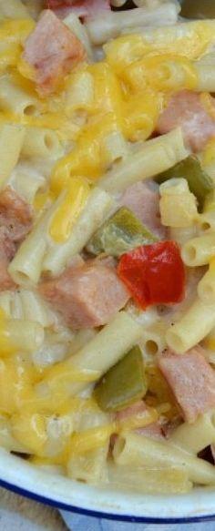 With A Blast: Creamy Ham Casserole Good, but it def needs more liquid. I would add more onion too