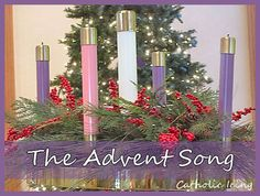 """The Advent Song"" for kids. Get across the idea of waiting. :-)"