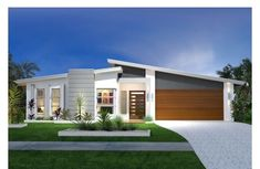 Trending Modern Home Exterior Design For Your Decorations 24 Replacing an exterior home trim can add to the freshness and beauty of your home. The trim is an important […] Modern House Plans, Modern House Design, Facade Design, Exterior Design, Villa Design, Mid Century Exterior, Facade House, House Facades, Modern Exterior