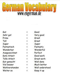 German Grammar, German Words, Learn English Words, German Resources, Study German, Deutsch Language, Germany Language, Learn Another Language, German Language Learning