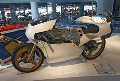 1983 Krauser 80cc Grand Prix monocoque chassis racing motorcycle by Zundapp