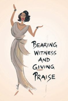 New! Bearing Witness and Giving Praise Sources: Magnet | Magnets | Shades of colour.com