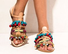 Sandals Natalie Black handmade to order by ElinaLinardaki on Etsy