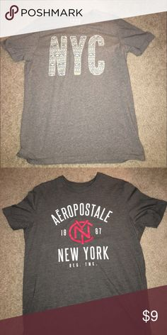 2 Tee-Shirts (Aeropostale & Old Navy) Two barely used shirts, i put these together, but i have them separate in my closet. If you would like to buy one individually they are there $5 each. Old Navy Shirts Tees - Short Sleeve