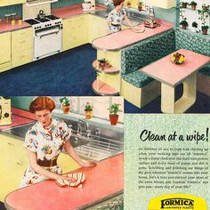 Vintage Formica Laminate Ad