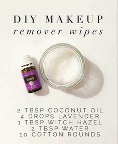 Skin Secrets, Beauty Secrets, Skin Tips, Beauty Tips, Young Living Oils, Young Living Essential Oils, Diy Makeup Remover Wipes, Aromatherapy Oils, Hacks