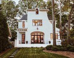 """4,643 Likes, 98 Comments - m y g r e y s k y e h o m e (@mygreyskyehome) on Instagram: """"I love how an exterior of a home can bring such inspiration. I call this one the """"house with the…"""""""