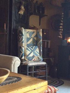 Leah's home~ make-do chair ❤️