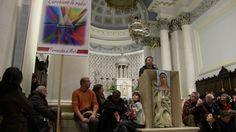 Visionary Jakov at St. James church in Medjugorje