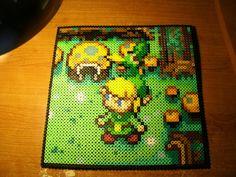 Perler Beads - Link Zelda (50x50 perler) by Piranha2021 on deviantART