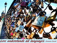 Love understands all languages