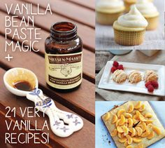 Vanilla Bean Paste Uses and Vanilla Bean Paste Recipes - Babble Crock Pot Cooking, Cooking Tips, Cooking Recipes, Just Desserts, Delicious Desserts, Yummy Food, Snack Recipes, Dessert Recipes, Paste Recipe