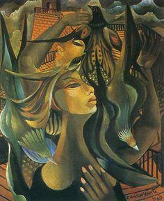 "Di Cavalcanti, ""Ivette"", 1963."