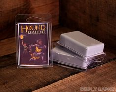 HOUND REPELLENT Fire Scented Soap  Geek Soaps and by DapperSoaps, $6.00