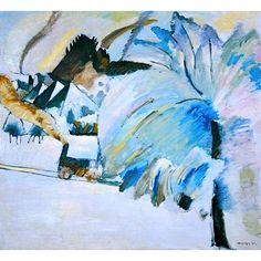 bofransson:    Winter Landscape By Wassily Kandinsky
