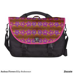 Andean Flowers II Laptop Bag