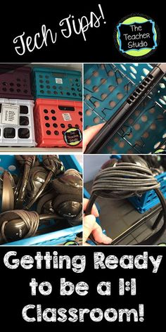 Helping transition to a classroom! Tons of tips and suggestions for organizing your devices and teaching students how to take care of them. A freebie is included as well! (Tech Tips Tuesday) Classroom Freebies, School Classroom, Google Classroom, Classroom Ideas, Classroom Design, Future Classroom, School Teacher, Teaching Technology, Educational Technology