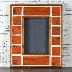 vintage frame...    insect frame... perfect present by CoolVintage