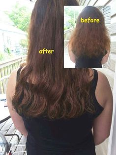 AFTER FIRST WASH WITH MONAT  Our products are strong enough to provide exceptional results, but gentle enough to use everyday. Plus, the more you use the products, the better your hair becomes. We help boost cellular turnover, repair the cuticle, nourish the follicle, and protect the color, all while promoting growth. #monat #healthyhairrevolution