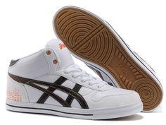 2013 Asics High Skateboard Shoes White Black