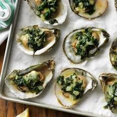 Oysters Rockefeller Recipe- Recipes  Cape Cod oyster farmers Beth and Bill Walton of Eastham, Massachusetts delight guests with this classic dish. It's deliciously simple!