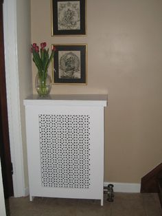 Beckwith could you do this to the monitor in the living room? not sure if it would work but it looks purty DIY radiator cover Home Projects, Interior, Diy Furniture, Home Improvement, Home Decor, Projects To Try, Diy Speakers, Home Diy, Diy Radiator Cover