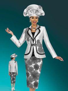 Ben Marc 47975 Cloverleaf Lapel Suit With Spriral Design