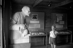 Most intimate photos from Magnum. Signed #MAGNUMSquare prints $100. Available TODAY only. Link in bio. A little girl looks at the bust of #Lenin in Poronin Poland in the pub where the Central Committee of the Russian Communist party first held its meetings and which was later converted into a museum. In 1956 a group of school children toured the building and viewed the bust of Lenin. After the group moved on a little girl stayed behind in awe. Her expression gives away both intimidation and…