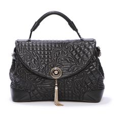 Women's fashion and accessories - SS 2012 Accessories - Bags - Versace 2012 found on Polyvore